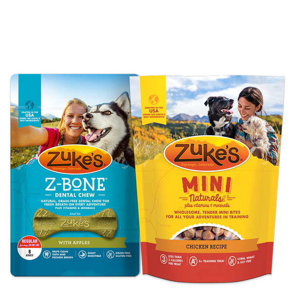 Our new packaging helps you find your Zuke's and get out on the trail.