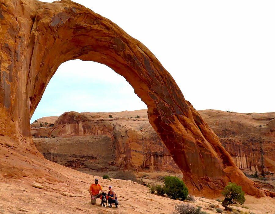 Corona Arch, Utah; photo courtesy Jeff Golden