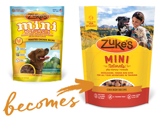 Zuke's old becomes new packaging graphic
